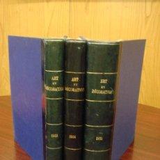 Libros antiguos: ART ET DÉCORATION. REVISTA MENSUAL DE ARTE MODERNO, 1933-34-35, 3 TOMOS . Lote 32718207