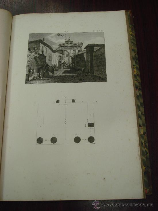 Libros antiguos: THE ANTIQUITIES OF ATHENS, 1825-30, 4 Vol., Measured And Delineated By J. Stuart F.R.S. F.S.A., - Foto 4 - 32786099