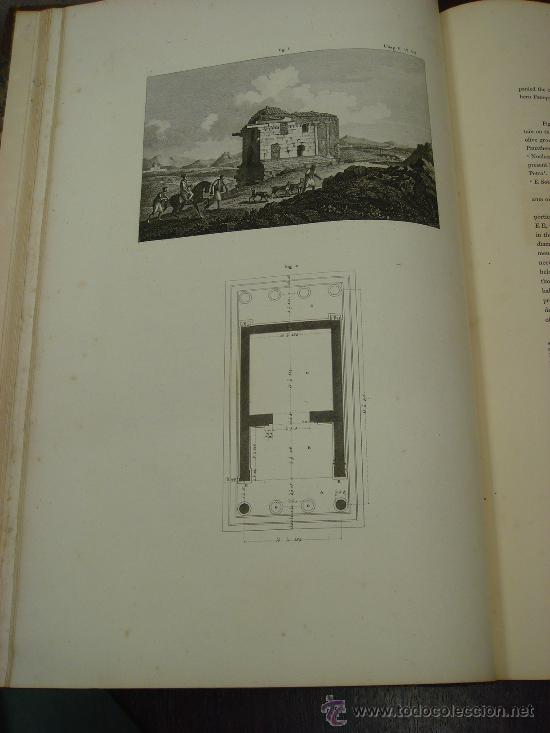 Libros antiguos: THE ANTIQUITIES OF ATHENS, 1825-30, 4 Vol., Measured And Delineated By J. Stuart F.R.S. F.S.A., - Foto 6 - 32786099