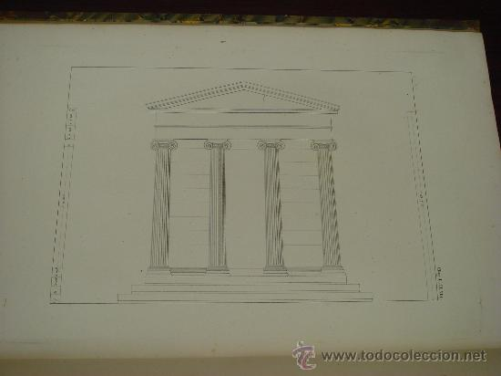 Libros antiguos: THE ANTIQUITIES OF ATHENS, 1825-30, 4 Vol., Measured And Delineated By J. Stuart F.R.S. F.S.A., - Foto 7 - 32786099
