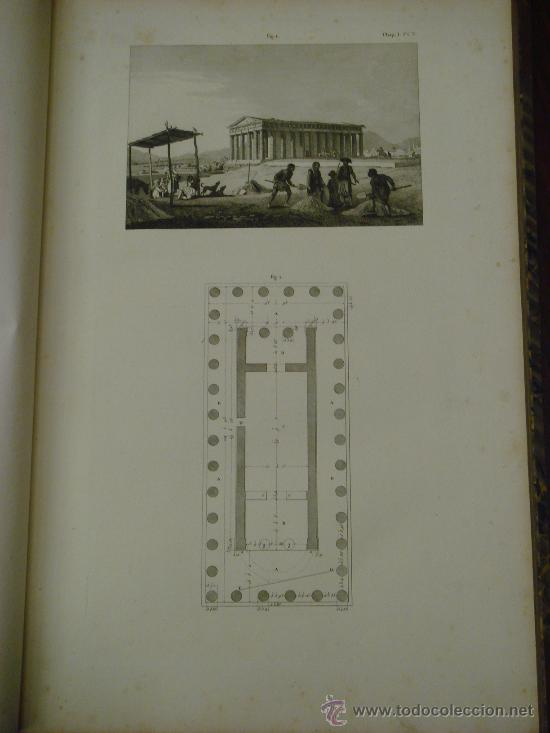 Libros antiguos: THE ANTIQUITIES OF ATHENS, 1825-30, 4 Vol., Measured And Delineated By J. Stuart F.R.S. F.S.A., - Foto 14 - 32786099