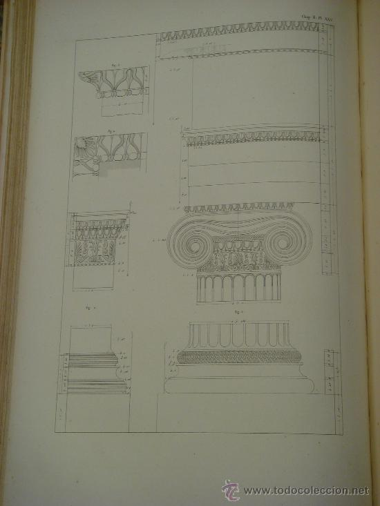 Libros antiguos: THE ANTIQUITIES OF ATHENS, 1825-30, 4 Vol., Measured And Delineated By J. Stuart F.R.S. F.S.A., - Foto 19 - 32786099