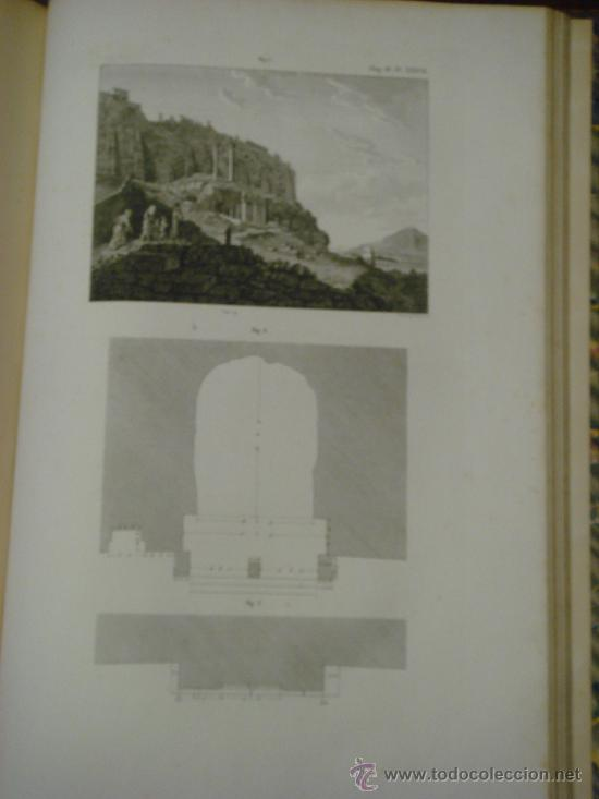 Libros antiguos: THE ANTIQUITIES OF ATHENS, 1825-30, 4 Vol., Measured And Delineated By J. Stuart F.R.S. F.S.A., - Foto 22 - 32786099