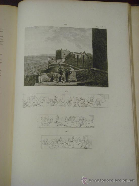 Libros antiguos: THE ANTIQUITIES OF ATHENS, 1825-30, 4 Vol., Measured And Delineated By J. Stuart F.R.S. F.S.A., - Foto 23 - 32786099