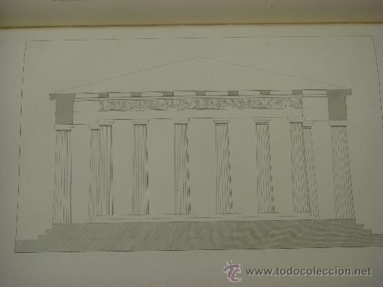 Libros antiguos: THE ANTIQUITIES OF ATHENS, 1825-30, 4 Vol., Measured And Delineated By J. Stuart F.R.S. F.S.A., - Foto 26 - 32786099