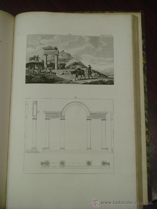 Libros antiguos: THE ANTIQUITIES OF ATHENS, 1825-30, 4 Vol., Measured And Delineated By J. Stuart F.R.S. F.S.A., - Foto 31 - 32786099