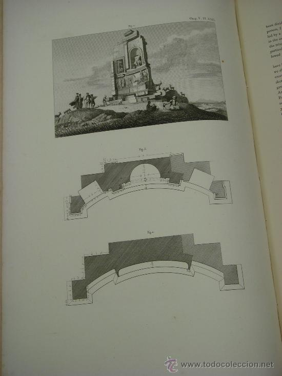 Libros antiguos: THE ANTIQUITIES OF ATHENS, 1825-30, 4 Vol., Measured And Delineated By J. Stuart F.R.S. F.S.A., - Foto 32 - 32786099