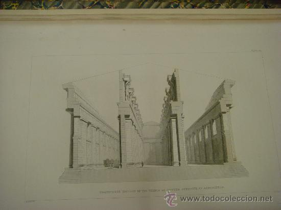 Libros antiguos: THE ANTIQUITIES OF ATHENS, 1825-30, 4 Vol., Measured And Delineated By J. Stuart F.R.S. F.S.A., - Foto 34 - 32786099
