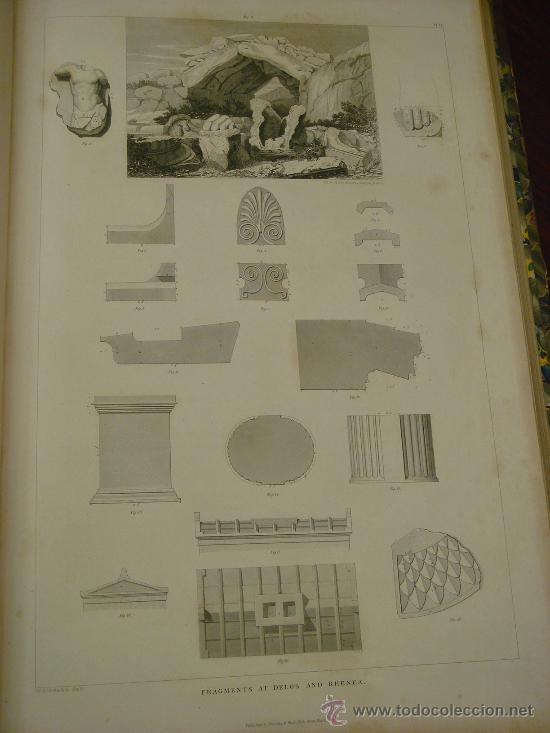 Libros antiguos: THE ANTIQUITIES OF ATHENS, 1825-30, 4 Vol., Measured And Delineated By J. Stuart F.R.S. F.S.A., - Foto 35 - 32786099