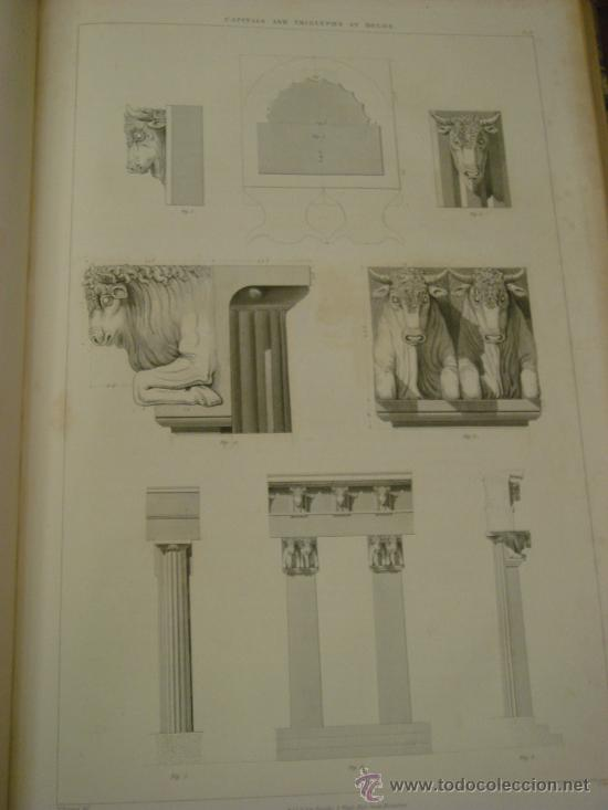 Libros antiguos: THE ANTIQUITIES OF ATHENS, 1825-30, 4 Vol., Measured And Delineated By J. Stuart F.R.S. F.S.A., - Foto 36 - 32786099