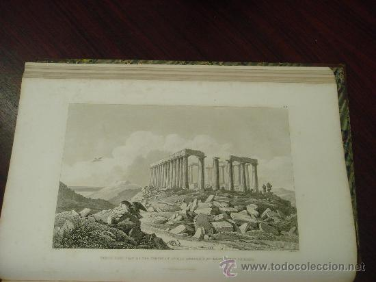 Libros antiguos: THE ANTIQUITIES OF ATHENS, 1825-30, 4 Vol., Measured And Delineated By J. Stuart F.R.S. F.S.A., - Foto 37 - 32786099