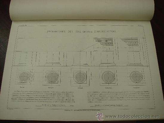Libros antiguos: REGOLA DELLI CINQUE ORDINI D'ARCHITETTURA, 1773, I.Barozzio da Vignola - Foto 9 - 32785815
