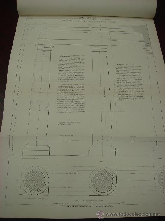 Libros antiguos: REGOLA DELLI CINQUE ORDINI D'ARCHITETTURA, 1773, I.Barozzio da Vignola - Foto 8 - 32785815