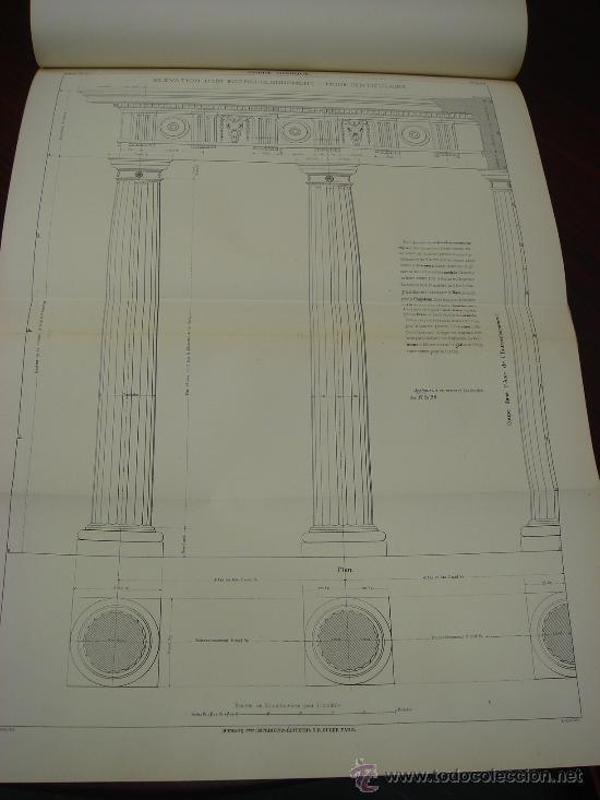 Libros antiguos: REGOLA DELLI CINQUE ORDINI D'ARCHITETTURA, 1773, I.Barozzio da Vignola - Foto 7 - 32785815