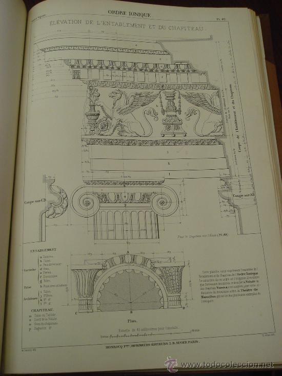 Libros antiguos: REGOLA DELLI CINQUE ORDINI D'ARCHITETTURA, 1773, I.Barozzio da Vignola - Foto 6 - 32785815