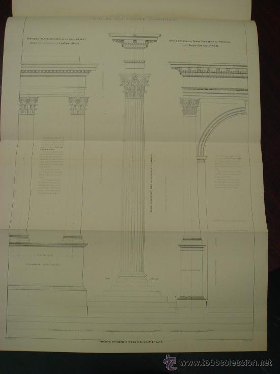 Libros antiguos: REGOLA DELLI CINQUE ORDINI D'ARCHITETTURA, 1773, I.Barozzio da Vignola - Foto 3 - 32785815