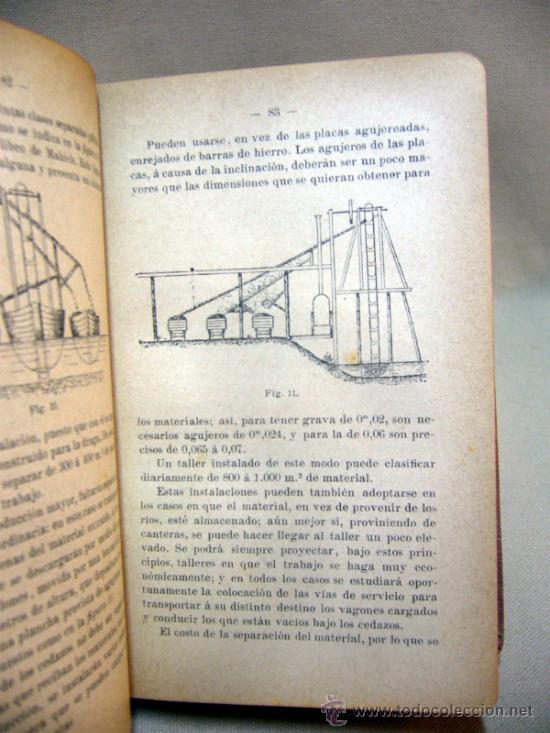 Libros antiguos: LIBRO, LAS CONSTRUCCIONES DE HORMIGON, JOSE VACCHELLI, 1910 - Foto 4 - 33209951