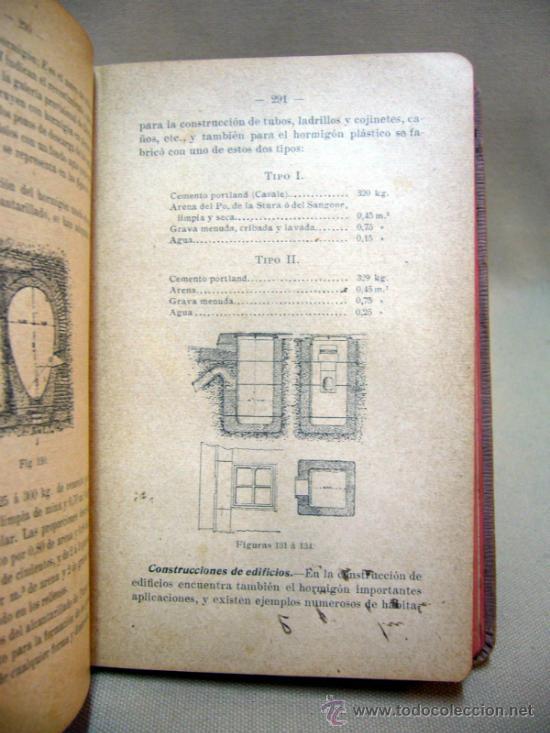 Libros antiguos: LIBRO, LAS CONSTRUCCIONES DE HORMIGON, JOSE VACCHELLI, 1910 - Foto 5 - 33209951