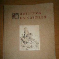 Libros antiguos: CASTILLOS EN CASTILLA POR EL CONDE DE GAMAZO. Lote 33210835