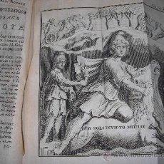 Libros antiguos: HISTOIRE DE L´ACADEMIE ROYALE DES INSCRIPTIONS ET BELLES-LETTRES, TOMO VI, 1743, CONTIENE 9 GRABADOS. Lote 33227460