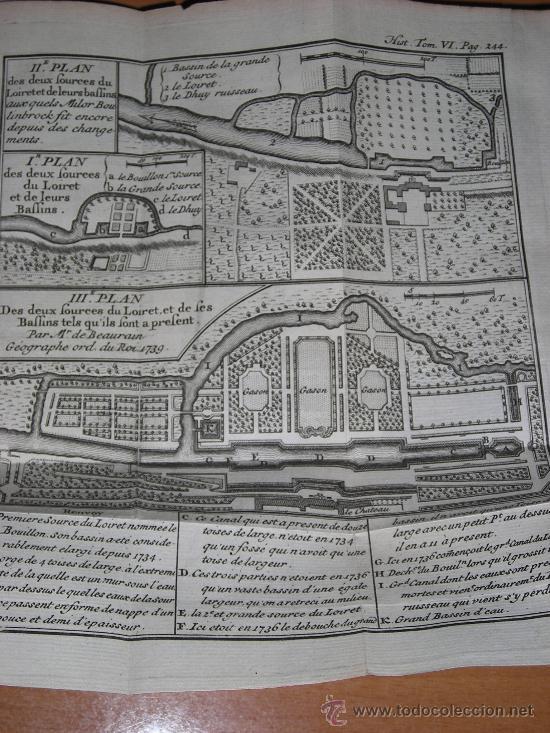 Libros antiguos: Histoire de L´Academie Royale des Inscriptions et Belles-Lettres, tomo VI, 1743, Contiene 9 grabados - Foto 10 - 33227460
