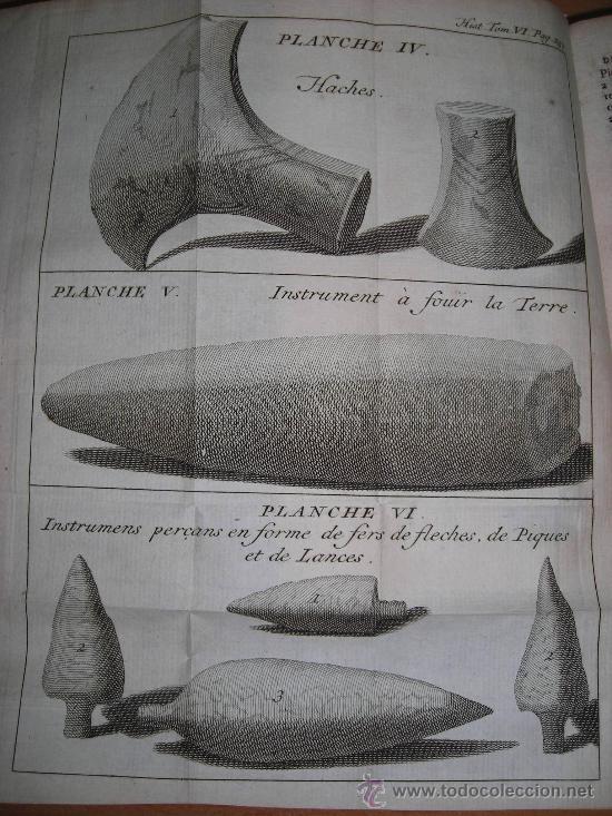 Libros antiguos: Histoire de L´Academie Royale des Inscriptions et Belles-Lettres, tomo VI, 1743, Contiene 9 grabados - Foto 12 - 33227460