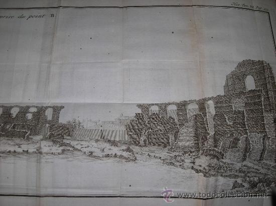 Libros antiguos: Histoire de L´Academie Royale des Inscriptions et Belles-Lettres, tomo VI, 1743, Contiene 9 grabados - Foto 17 - 33227460