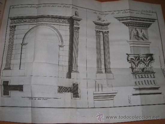Libros antiguos: Histoire de L´Academie Royale des Inscriptions et Belles-Lettres, tomo VI, 1743, Contiene 9 grabados - Foto 19 - 33227460