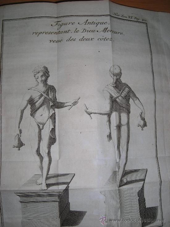 Libros antiguos: Histoire de L´Academie Royale des Inscriptions et Belles-Lettres, tomo VI, 1743, Contiene 9 grabados - Foto 23 - 33227460