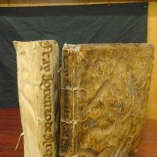 Libros antiguos: ARTE Y USO DE LA ARQUITECTURA, 1736, 2 VOL.,LORENZO DE SAN NICOLAS Y DIRIGIDO AL PATRIARCHA SAN JOSE. Lote 33219969