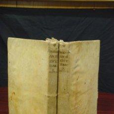 Libros antiguos: PERSPECTIVAE PICTORUM ATQUE ARCHITECTORUM. 1719, 2 VOLS. . Lote 33220072