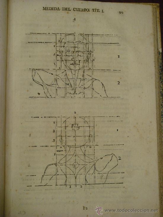 Libros antiguos: VARIA COMMENSURACION PARA LA ESCULTURA, Y ARQUITECTURA. 1795, Juan de Arphe y Villafañe - Foto 7 - 33220192