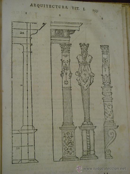 Libros antiguos: VARIA COMMENSURACION PARA LA ESCULTURA, Y ARQUITECTURA. 1795, Juan de Arphe y Villafañe - Foto 13 - 33220192