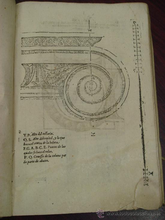Libros antiguos: ARTE Y USO DE LA ARQUITECTURA, 1736, 2 Vol.,Lorenzo de San Nicolas y dirigido al Patriarcha San Jose - Foto 5 - 33219969