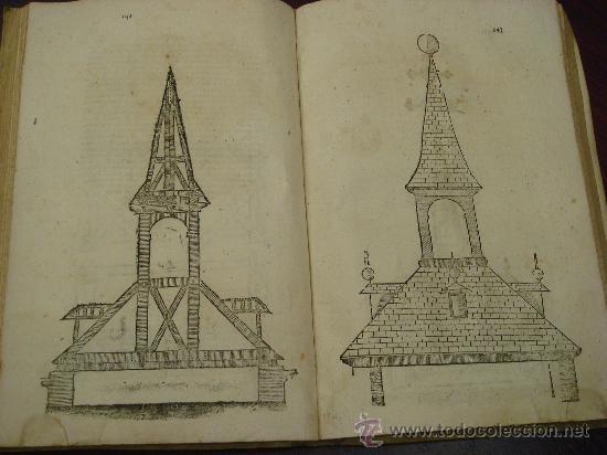 Libros antiguos: ARTE Y USO DE LA ARQUITECTURA, 1736, 2 Vol.,Lorenzo de San Nicolas y dirigido al Patriarcha San Jose - Foto 6 - 33219969