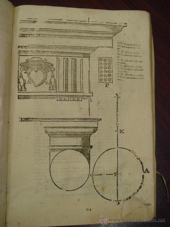 Libros antiguos: ARTE Y USO DE LA ARQUITECTURA, 1736, 2 Vol.,Lorenzo de San Nicolas y dirigido al Patriarcha San Jose - Foto 9 - 33219969