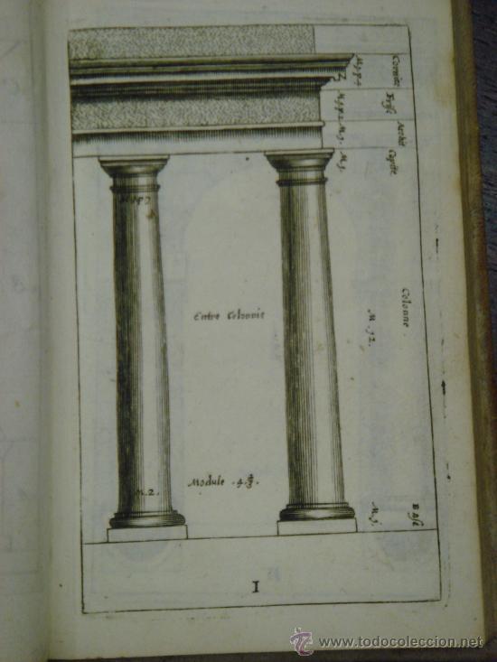 Libros antiguos: NEUE AUSGABE DER LEHRE VON DEN SÄULENORDNUNGEN, 1787, M. Jacob Barozzio v. Vignola - Foto 4 - 33290375