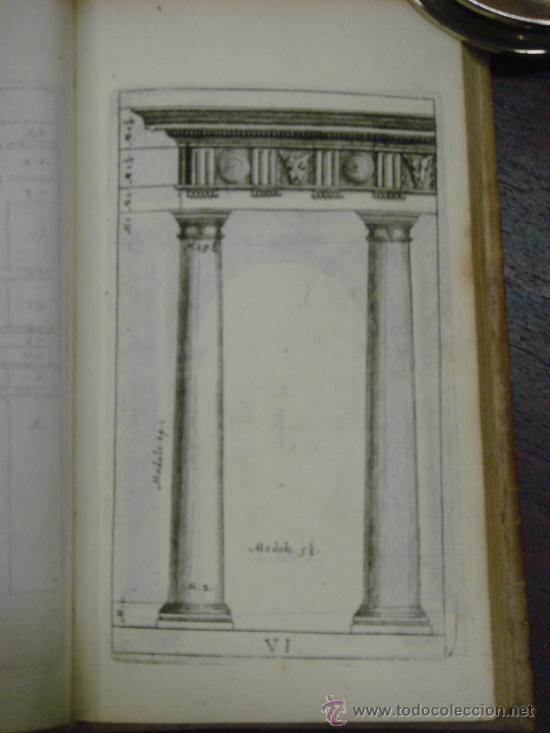 Libros antiguos: NEUE AUSGABE DER LEHRE VON DEN SÄULENORDNUNGEN, 1787, M. Jacob Barozzio v. Vignola - Foto 5 - 33290375