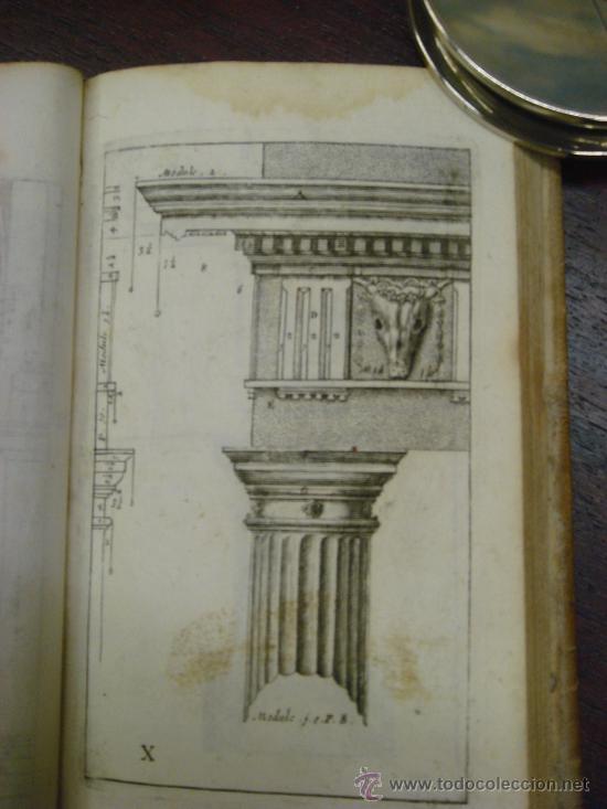 Libros antiguos: NEUE AUSGABE DER LEHRE VON DEN SÄULENORDNUNGEN, 1787, M. Jacob Barozzio v. Vignola - Foto 6 - 33290375