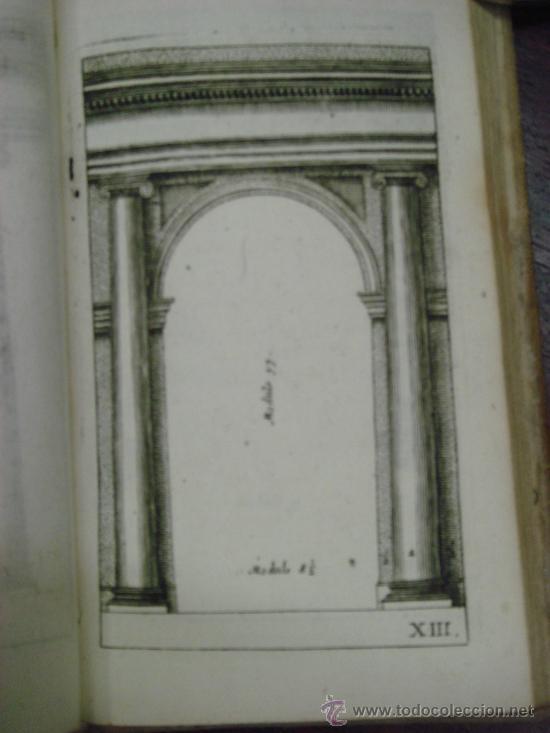 Libros antiguos: NEUE AUSGABE DER LEHRE VON DEN SÄULENORDNUNGEN, 1787, M. Jacob Barozzio v. Vignola - Foto 7 - 33290375