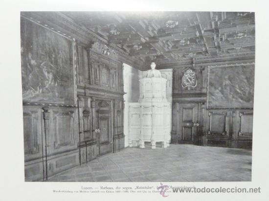 Libros antiguos: DEUTSCHE WOHN UND FESTRÄUME - R. C. H. BAER - 1912 - DECORACIÓN Y MUEBLES ALEMANES - Foto 8 - 34082611