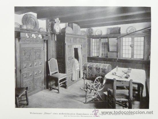 Libros antiguos: DEUTSCHE WOHN UND FESTRÄUME - R. C. H. BAER - 1912 - DECORACIÓN Y MUEBLES ALEMANES - Foto 9 - 34082611