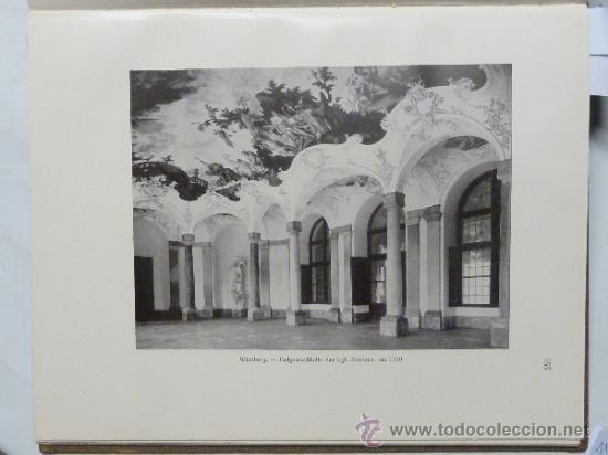 Libros antiguos: DEUTSCHE WOHN UND FESTRÄUME - R. C. H. BAER - 1912 - DECORACIÓN Y MUEBLES ALEMANES - Foto 3 - 34082611