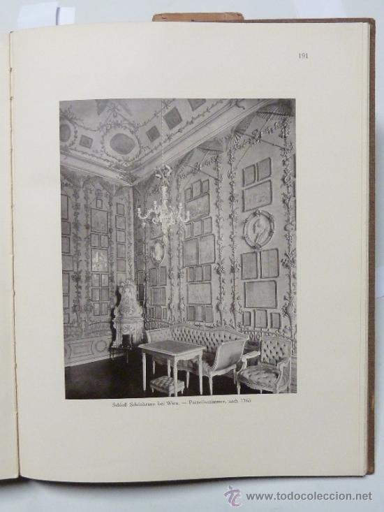 Libros antiguos: DEUTSCHE WOHN UND FESTRÄUME - R. C. H. BAER - 1912 - DECORACIÓN Y MUEBLES ALEMANES - Foto 6 - 34082611