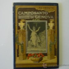 Libros antiguos: LIBRO EXTRANJERO CAMPOSANTO DI GENOVA - 32 VEDUTE. Lote 34602079