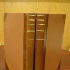 Libros antiguos: RECUEIL DE MENUISERIE PRATIQUE, MANUAL PRACTICO DE CARPINTERIA,1881?. AÑOS 1º A 6º Y DEL 6º AL 11º.. Lote 34614996