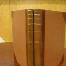 Libros antiguos: RECUEIL DE SERRURERIE PRATIQUE,(MANUAL PRACTICO DE CERRAJERIA), 2 VOL,1881?.AÑOS 1ºA6º Y DEL6ºA11º . Lote 34616277