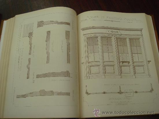 Libros antiguos: RECUEIL DE MENUISERIE PRATIQUE, Manual Practico de Carpinteria,1881?. Años 1º a 6º y del 6º al 11º. - Foto 5 - 34614996