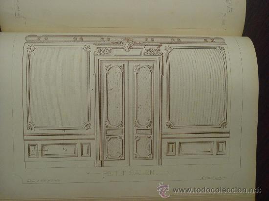 Libros antiguos: RECUEIL DE MENUISERIE PRATIQUE, Manual Practico de Carpinteria,1881?. Años 1º a 6º y del 6º al 11º. - Foto 11 - 34614996