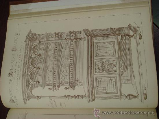 Libros antiguos: RECUEIL DE MENUISERIE PRATIQUE, Manual Practico de Carpinteria,1881?. Años 1º a 6º y del 6º al 11º. - Foto 27 - 34614996